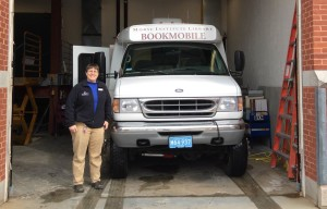 Rose Huling and the Morse Institute Library Bookmobile