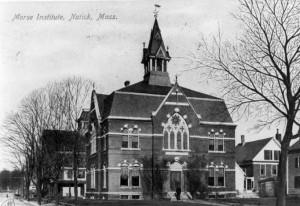 Morse Institute in 1874