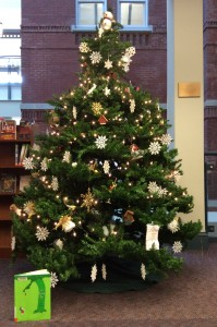 Morse Institute giving tree 2014