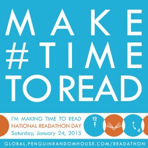 make time to read national readathon day jan 24 12-4p