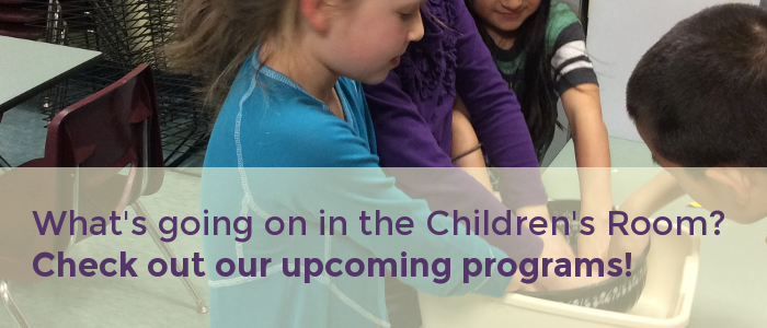 Upcoming Children's Programming at Morse Institute Library!