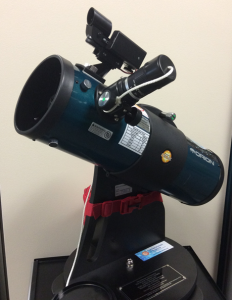 Aldrich Astronomical Society library telescope program