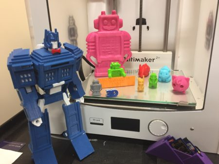 3D Printed items at the Morse Institute Library