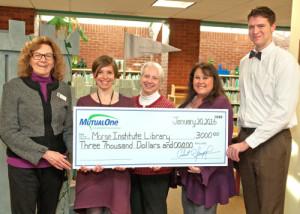 MutualOne Bank Charitable Foundation community grant