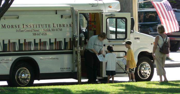 Morse Institute Library Bookmobile