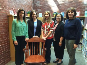 We are grateful for a long-standing partnership between the Autism Alliance and the Flutie Foundation. Left to right - Lisa Borges (DFJF), Kelly Gryglewicz (AAMW), Allison Daigle (AAMW), Pam McKillop (AAMW) and Lisa Collins (DFJF)