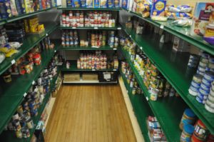 Food For Fines all August at the Morse Institute Library