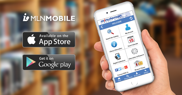 Introducing the Minuteman Library Network mobile app!
