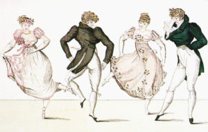 English country dance image